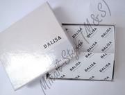 Стильный кожаный мужской кошелёк balisa с множеством отделов