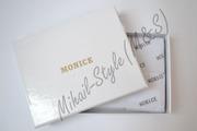 Стильный кожаный мужской зажим для купюр Monice